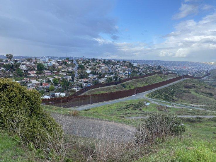 Border Fence Colonia Libertad