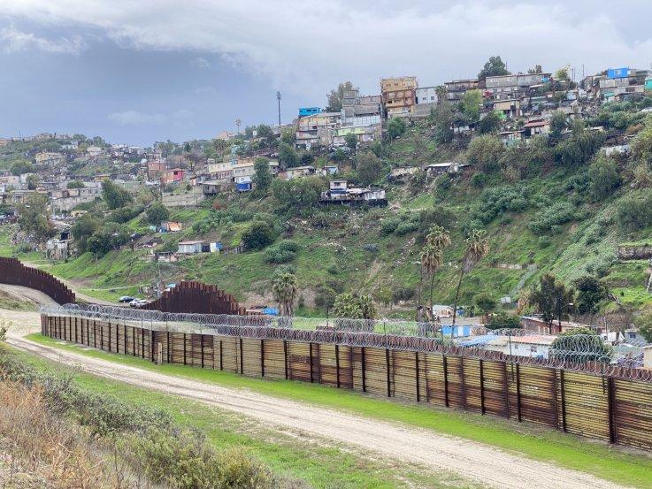 U.S. Border old fence