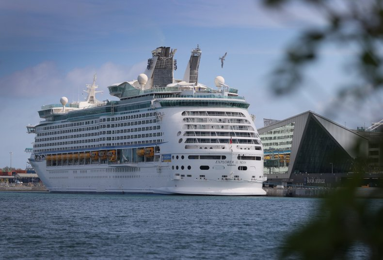 Royal Caribbean cruise ship in Miami