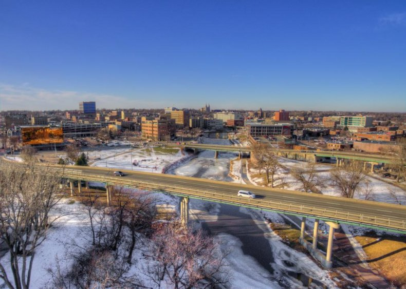 #22. Sioux Falls, South Dakota (tie)