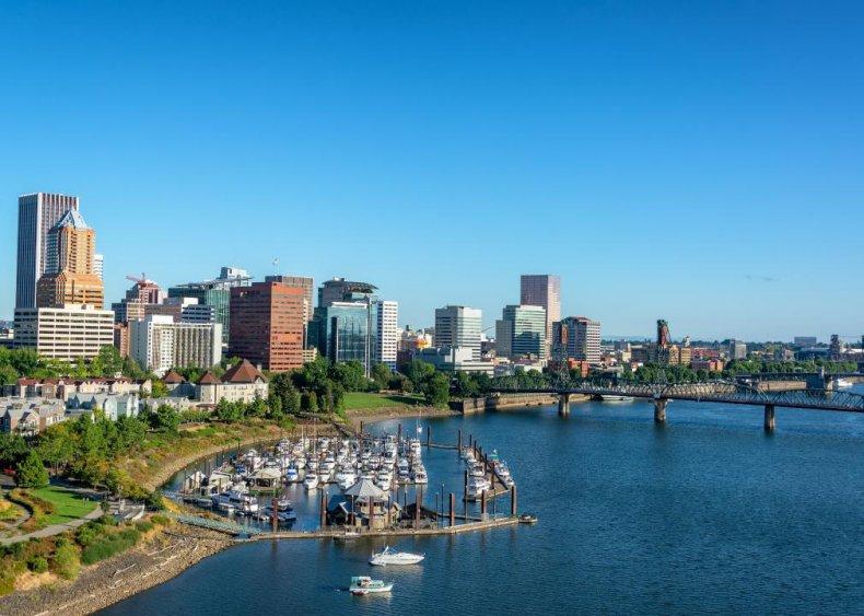 #15. Portland-Vancouver-Hillsboro, Oregon-Washington (tie)