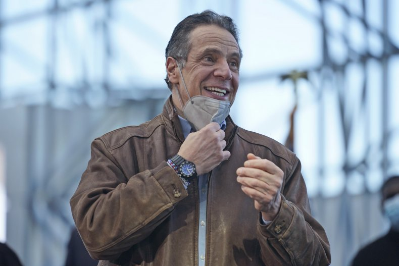 Embattled New York Governor Andrew Cuomo