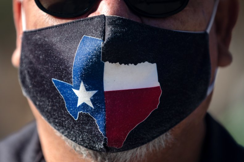 Austin Texas Face Mask