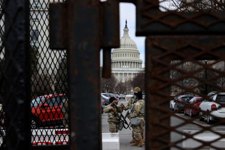 us capitol security fence wall