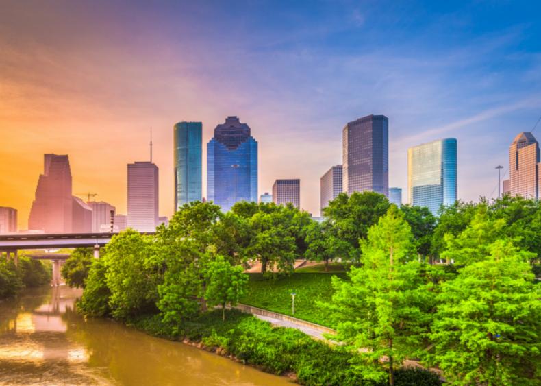 #22. Houston-The Woodlands-Sugar Land, Texas (tie)