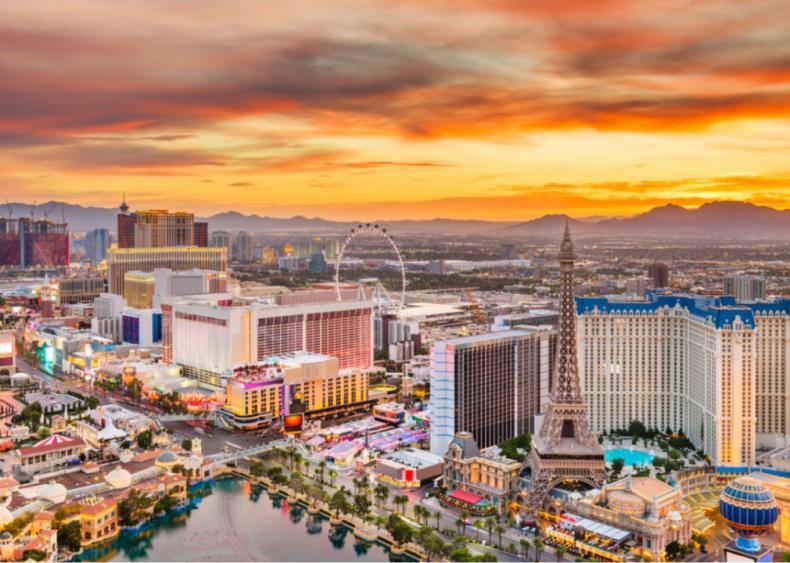 #22. Las Vegas-Henderson-Paradise, Nevada (tie)