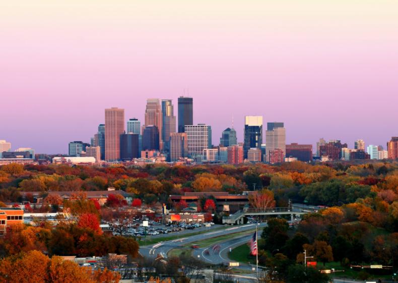 #22. Minneapolis-St. Paul-Bloomington, Minnesota-Wisconsin (tie)