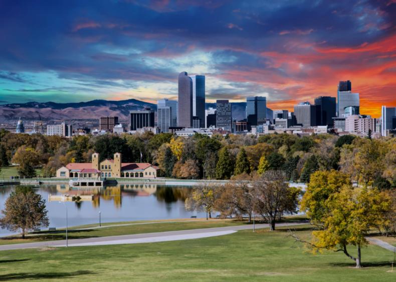 #13. Denver-Aurora-Lakewood, Colorado (tie)