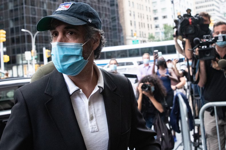 Michael Cohen in NYC