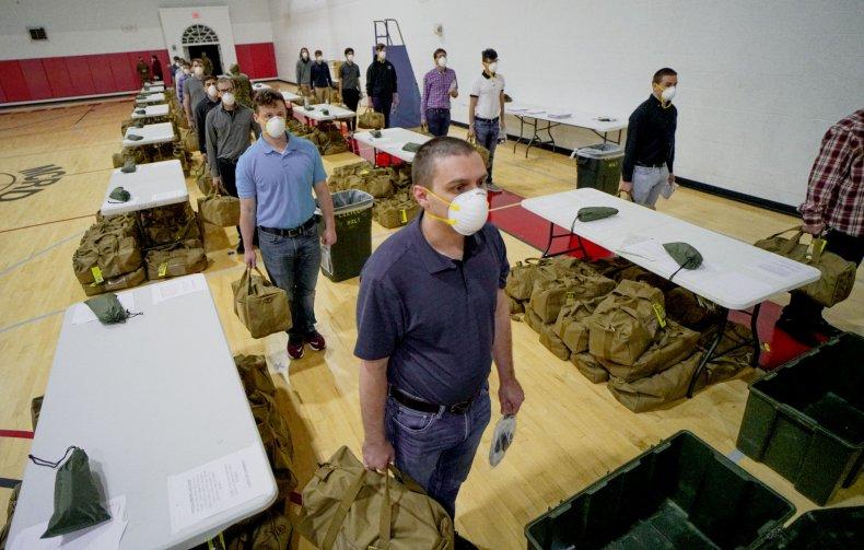 us marines recruits trust military