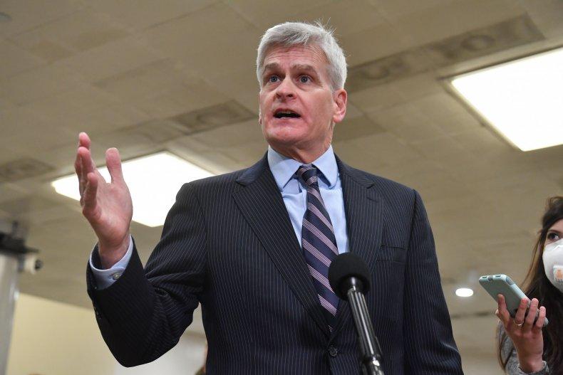 Republican Senator Bill Cassidy of Louisiana talks