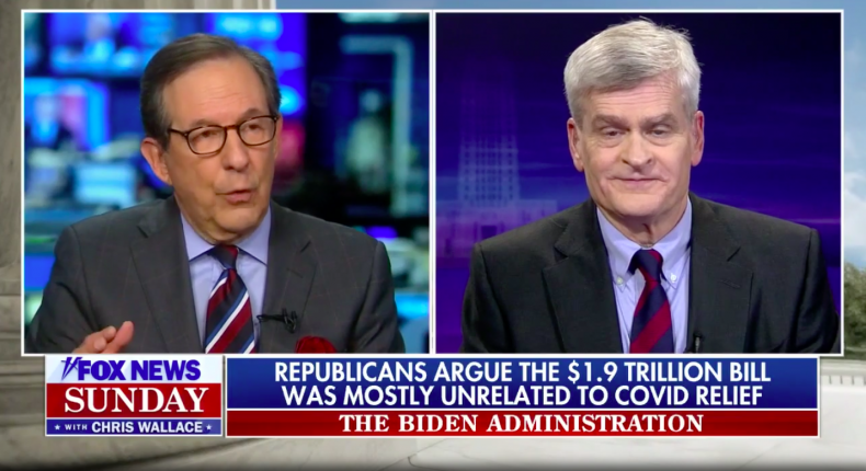 Chris Wallace and Bill Cassidy