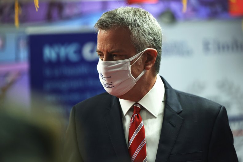 Mayor Bill de Blasio, New York, Cuomo