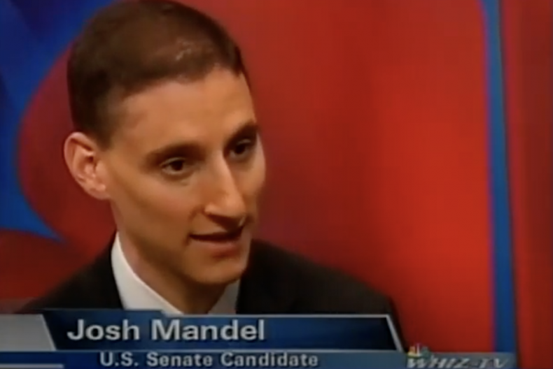 Ohio Senate candidate Josh Mandel