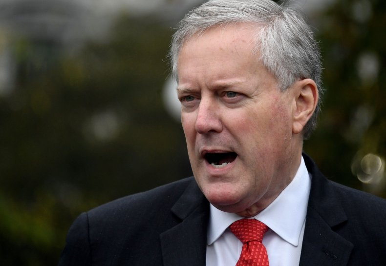 mark meadows speaking to the media