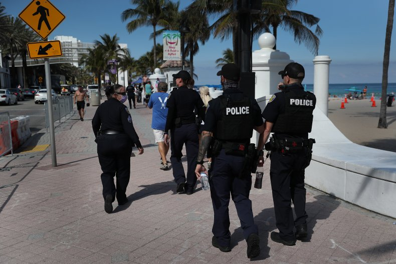 Fort Lauderdale Florida police March 2021