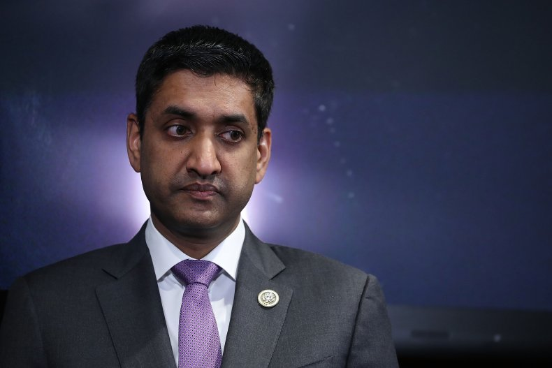 Rep. Ro Khanna attends news conference