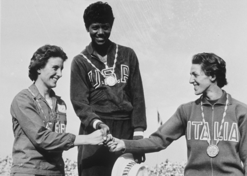 1960: Wilma Rudolph nets three Olympic gold medals
