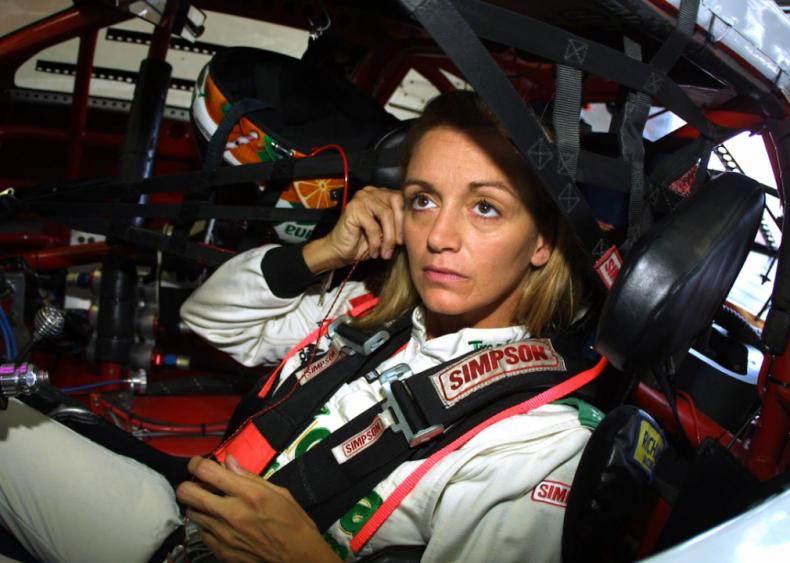 1988: Shawna Robinson wins NASCAR race