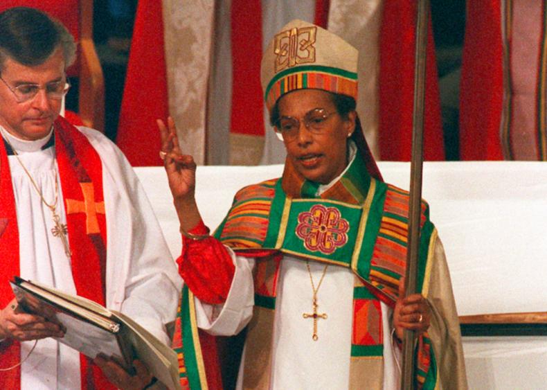 1989: Barbara Clementine Harris ordained as bishop in Episcopal Church