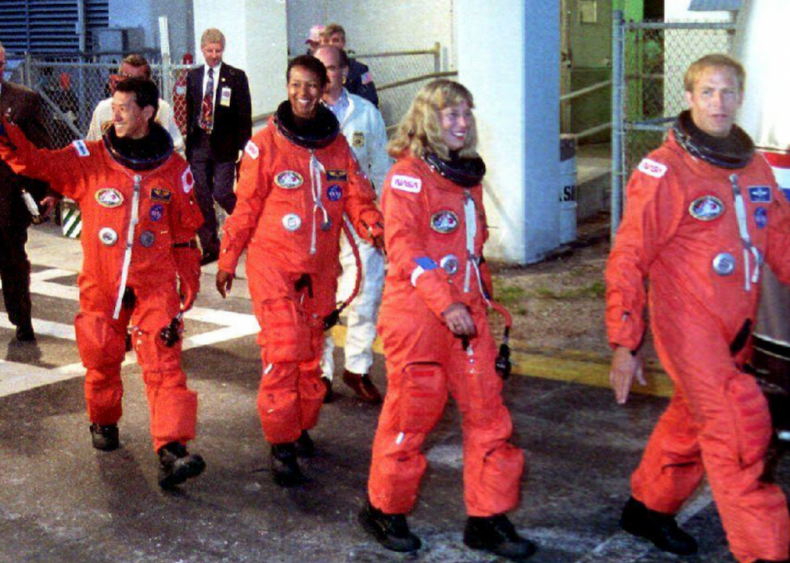 1992: Mae Jemison travels to space