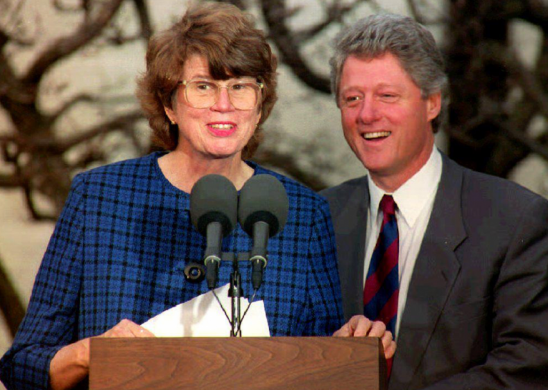 1993: Janet Reno becomes US attorney general