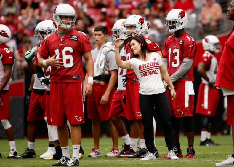 2015: Jen Welter becomes NFL coach