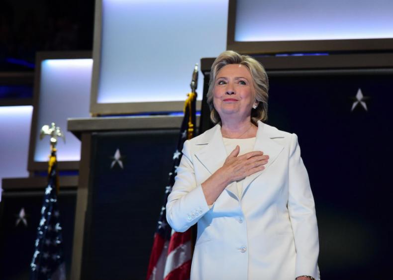2016: Hillary Clinton wins Democratic nomination for U.S. president