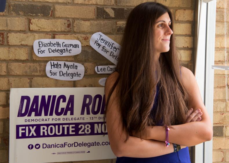 2017: Danica Roem is elected to U.S. legislature