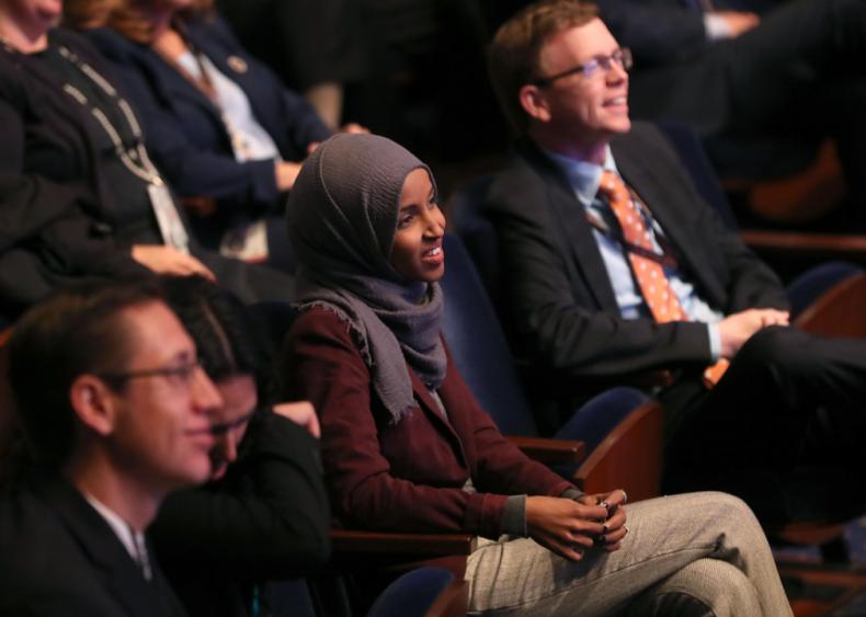 2018: First Muslim women elected to Congress