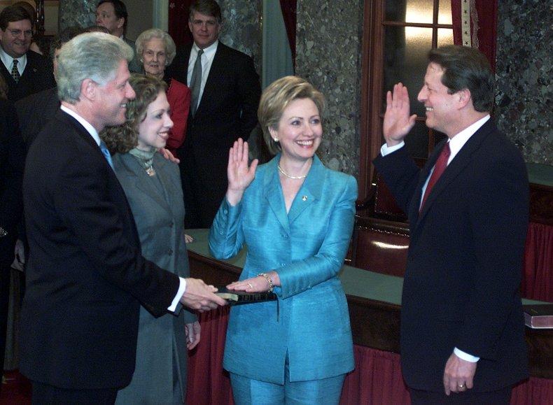 Clinton 2001