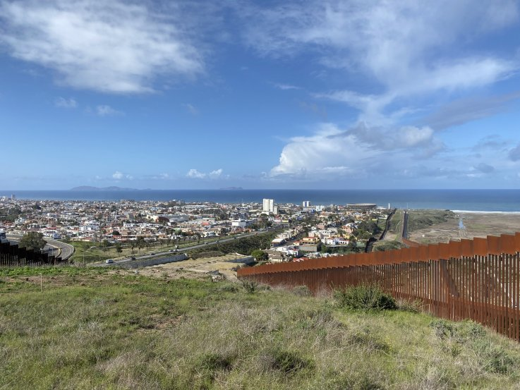 U.S. Mexico border Tijuana