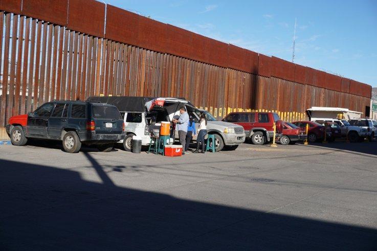 Nogales, Mexico Border Wall