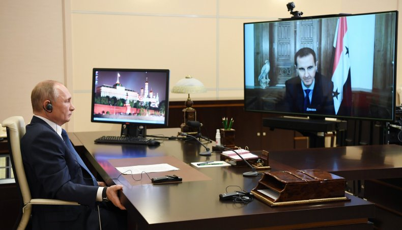 russia, putin, syria, assad, virtual, talk