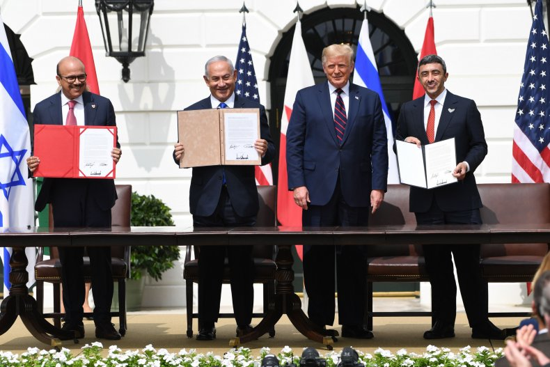 Signing of the Abraham Accords in September2020