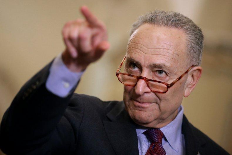 Chuck Schumer test Republicans eliminate Senate filibuster