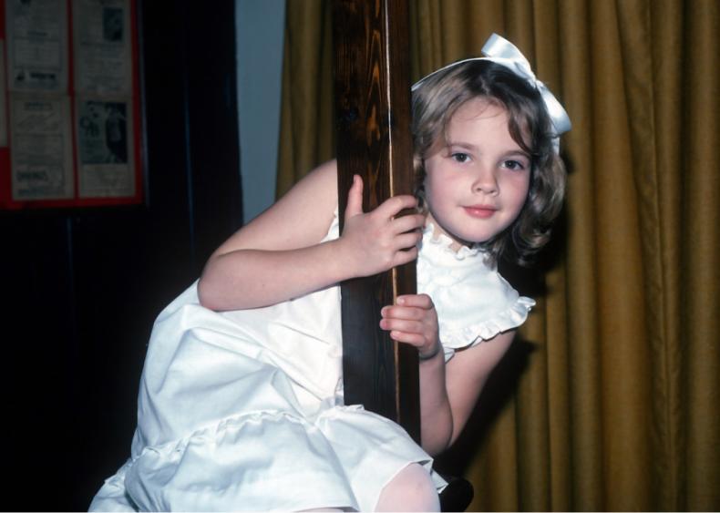 1982: Drew Barrymore
