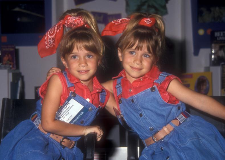 1993: Mary Kate and Ashley Olsen