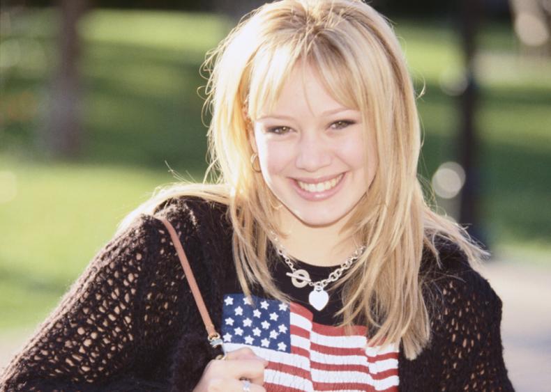 2001: Hilary Duff