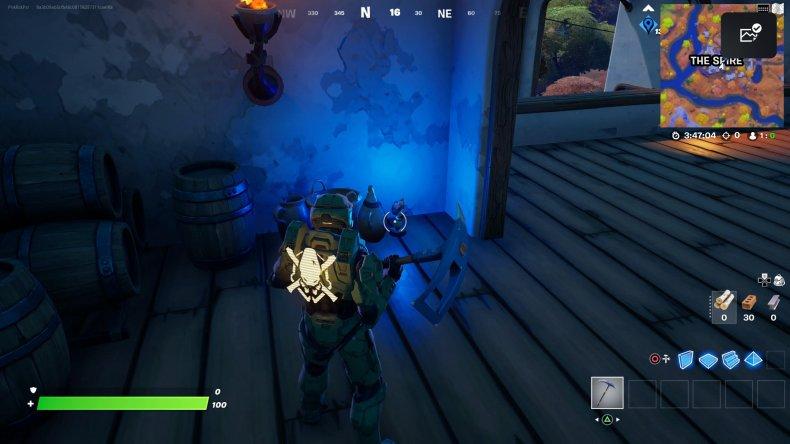fortnite golden artifact location 2 gameplay