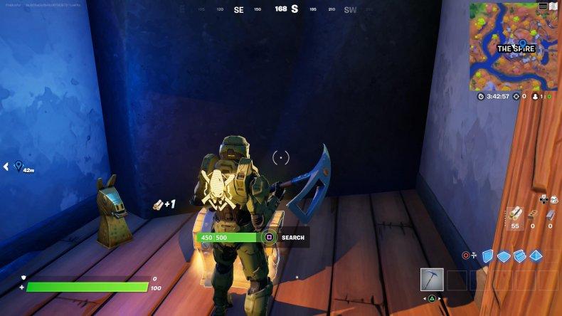 fortnite golden artifact location 3 gameplay