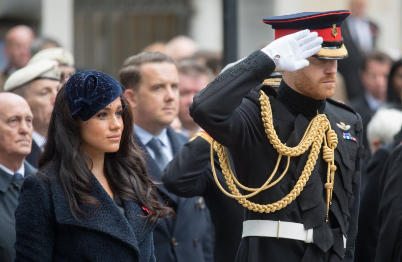 Meghan Markle and Prince Harry, Remembrance Day