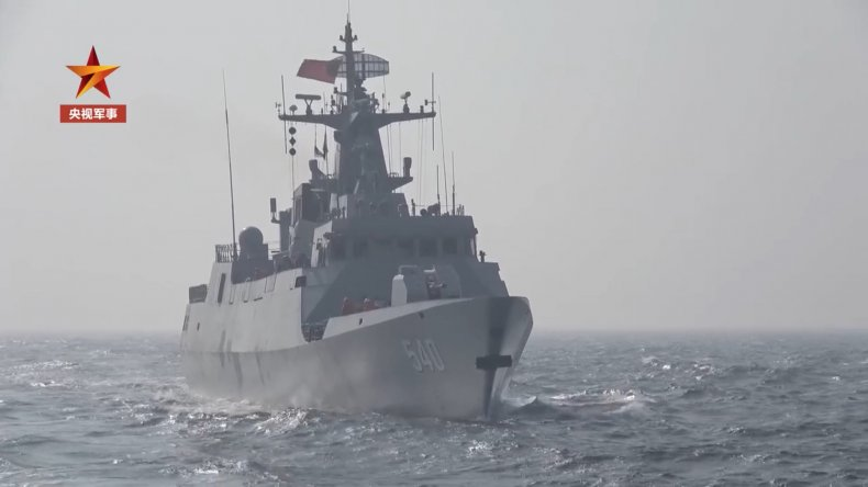 China Holds Live-Fire Drills In Surrounding Seas
