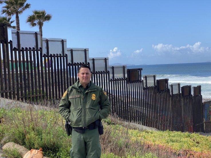Border Patrol Justin Castrejon