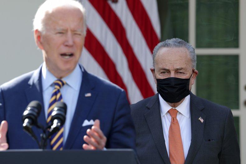 Chuck Schumer Joe Biden Stimulus Bill