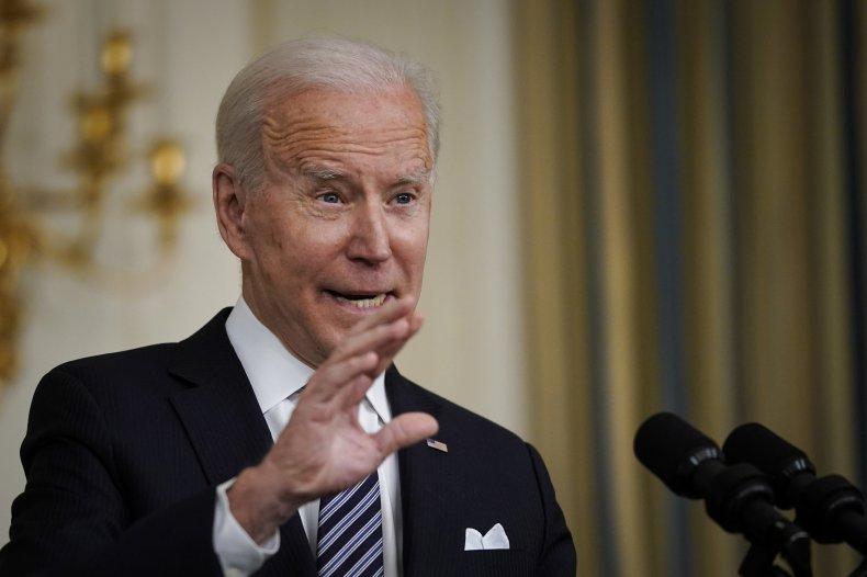 Joe Biden Migrants Immigration Asylum U.S.-Mexico Border