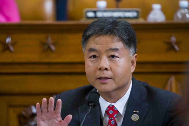 Democratic Representative Ted Lieu of California