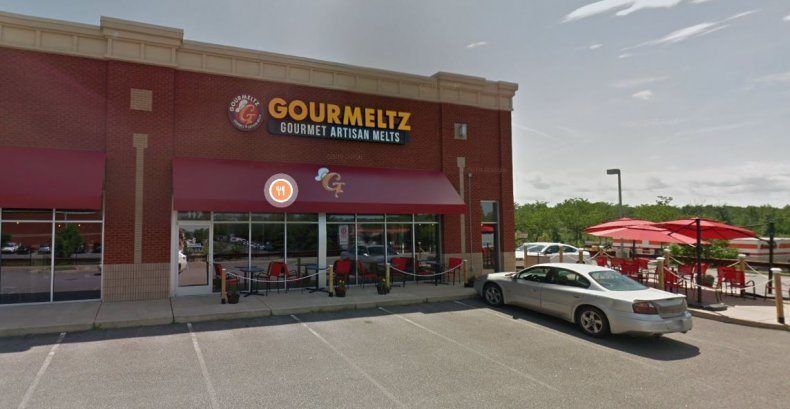 Gourmeltz restaurant in Fredericksburg, Virginia