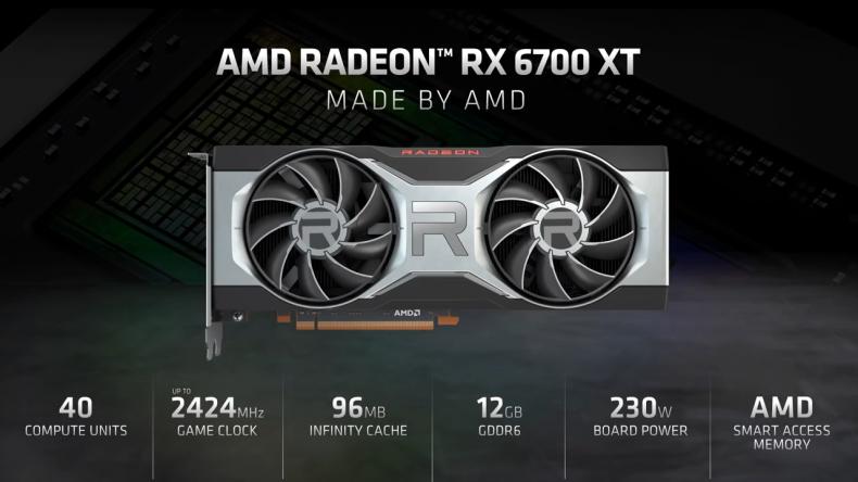 amd rx 6700 xt release time specs
