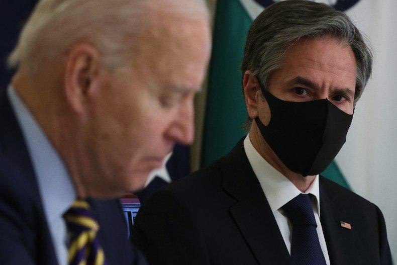 Joe Biden and Antony Blinken